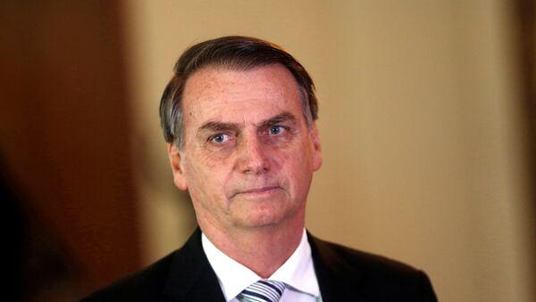 Jair Bolsonaro, presidente electo de Brasil - Sputnik Mundo