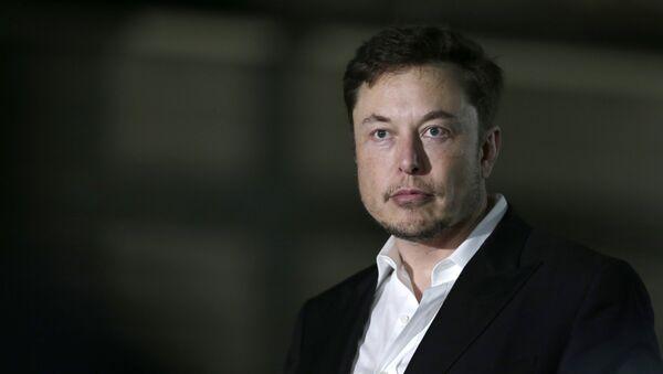 Elon Musk, empresario estadounidense - Sputnik Mundo