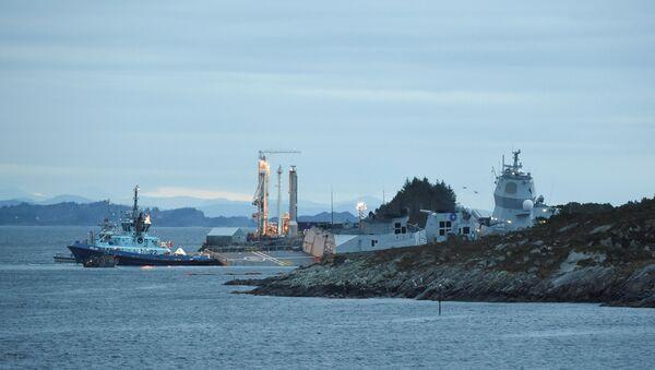 La fragata noruega Helge Ingstad - Sputnik Mundo