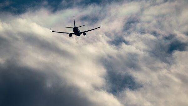 Un avión de pasajeros Airbus (imagen referencial) - Sputnik Mundo