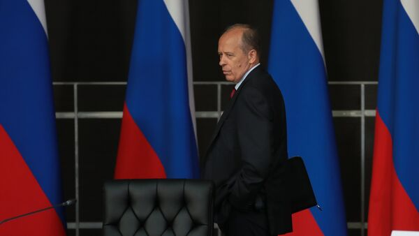 Alexandr Bórtnikov, director del FSB ruso - Sputnik Mundo