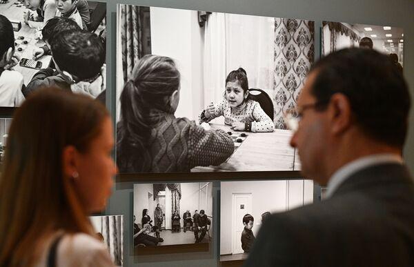 Se inaugura en Moscú la exposición del IV Fotoconcurso Internacional Andréi Stenin - Sputnik Mundo