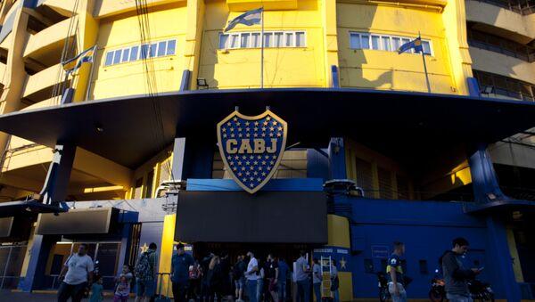La Bombonera, el estadio del Club Atlético Boca Juniors - Sputnik Mundo