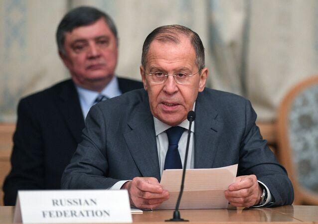 Serguéi Lavrov, ministro de Exteriores ruso (archivo)