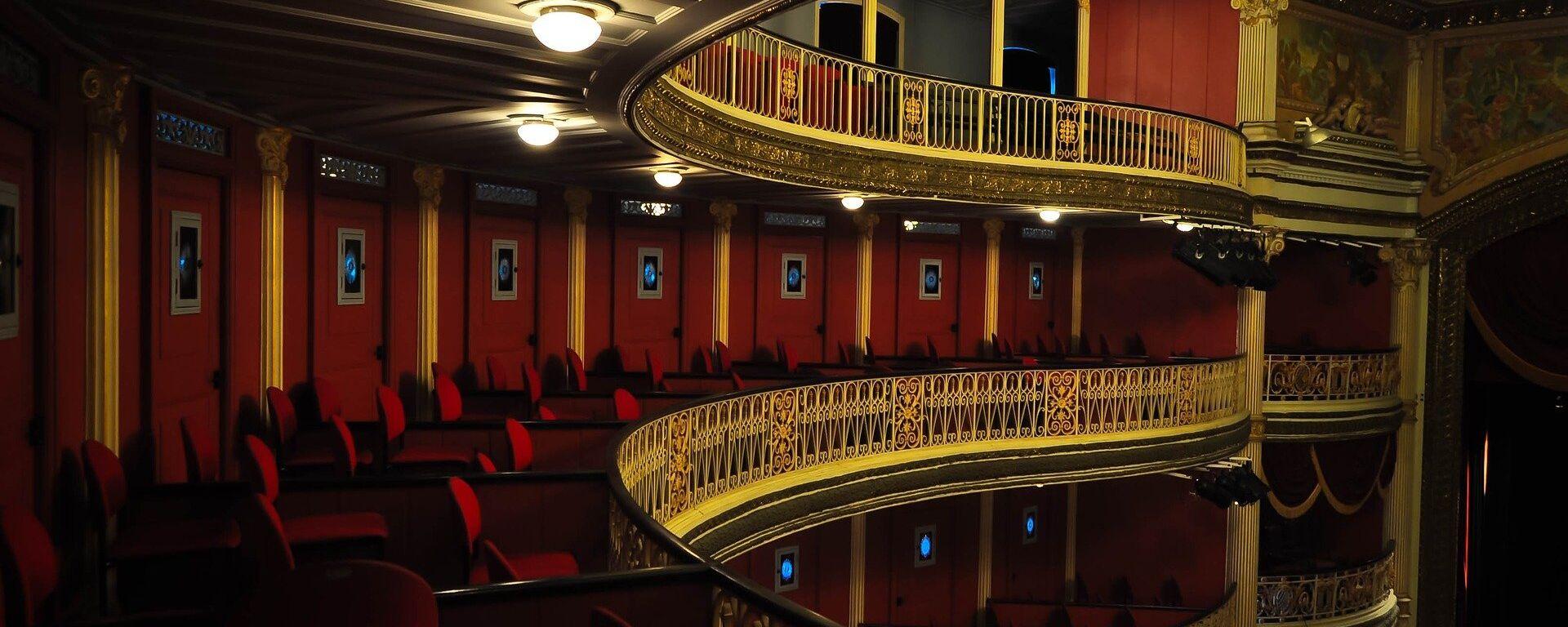 Teatro, imagen referencial - Sputnik Mundo, 1920, 14.04.2021