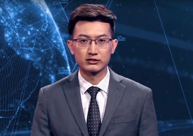 El primer presentador de noticias virtual es chino