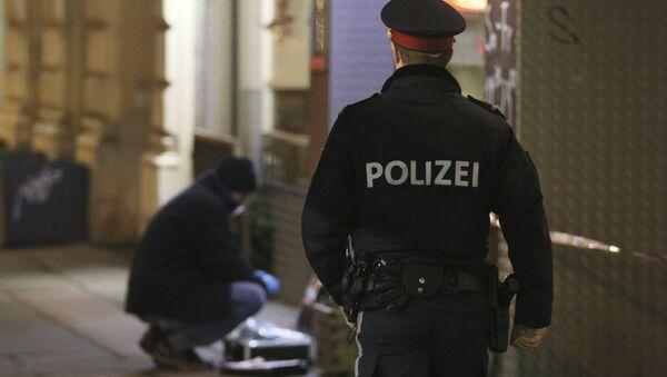 Policía austriaco (archivo) - Sputnik Mundo