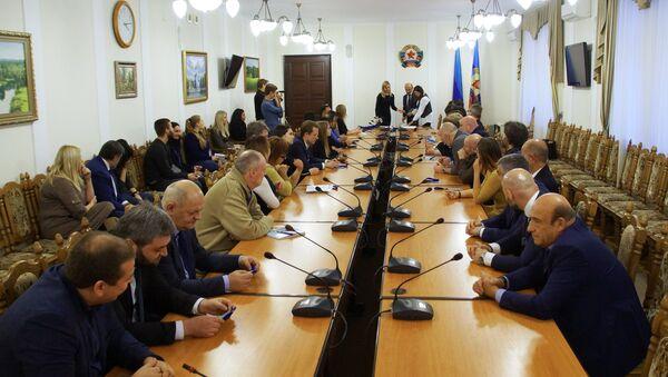 Observadores internacionales en Lugansk - Sputnik Mundo
