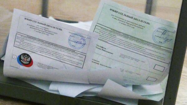 Elecciones en Donetsk - Sputnik Mundo