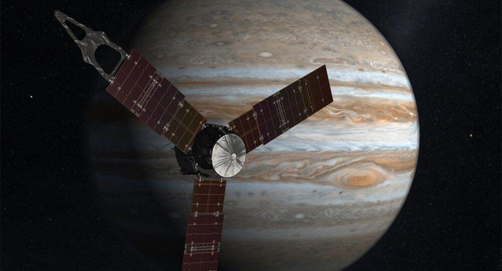 Sonda espacial Juno y Júpiter