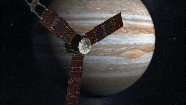 Sonda espacial Juno y Júpiter - Sputnik Mundo