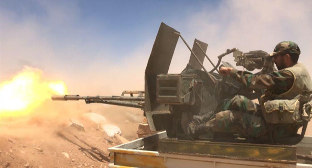 Un soldado del Ejército sirio (archivo)