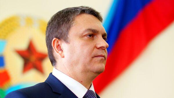 El jefe de la autoproclamada República Popular de Lugansk (RPL), Leonid Pásechnik - Sputnik Mundo