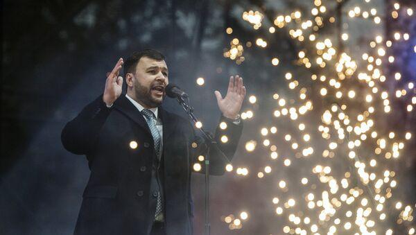 Denís Pushilin, jefe interino de la autoproclamada República Popular de Donetsk (RPD) - Sputnik Mundo