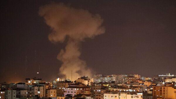 Franja de Gaza tras el ataque aereo de Israel - Sputnik Mundo