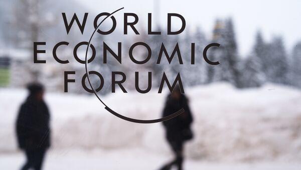 El Foro Economico de Davos - Sputnik Mundo