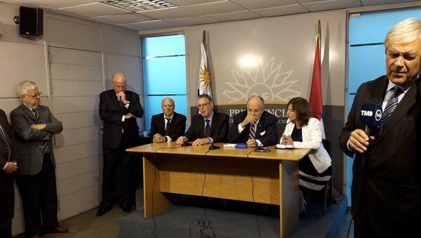 La conferencia de prensa de Rudy Guiliani en Uruguay - Sputnik Mundo