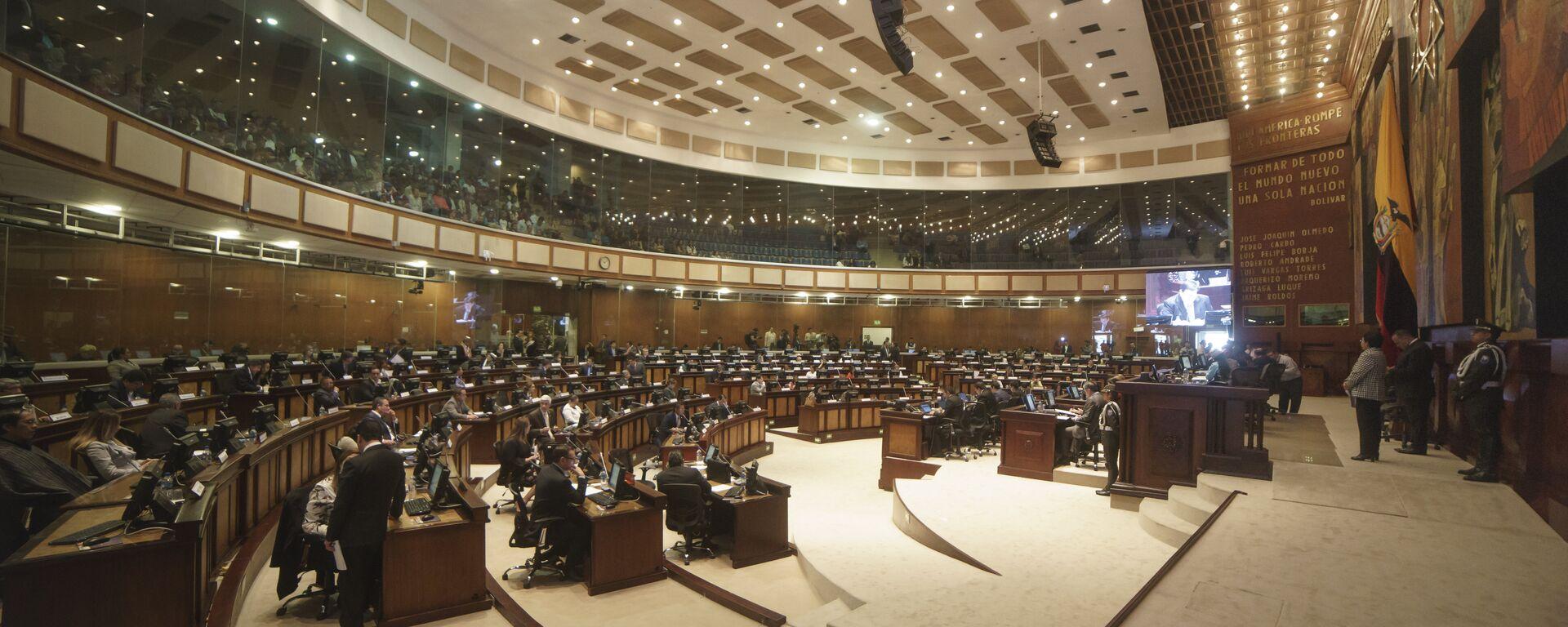 La Asamblea Nacional de Ecuador (archivo) - Sputnik Mundo, 1920, 30.06.2021