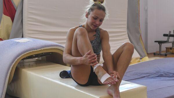 Las jóvenes estrellas del deporte ruso: la selección de gimnasia - Sputnik Mundo