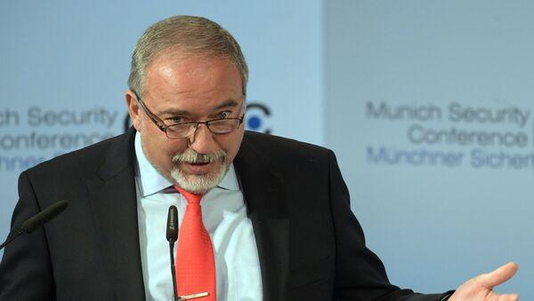 Avigdor Lieberman, político del partido Yisrael Beitenu, que dimitió como ministro de Defensa de Israel - Sputnik Mundo
