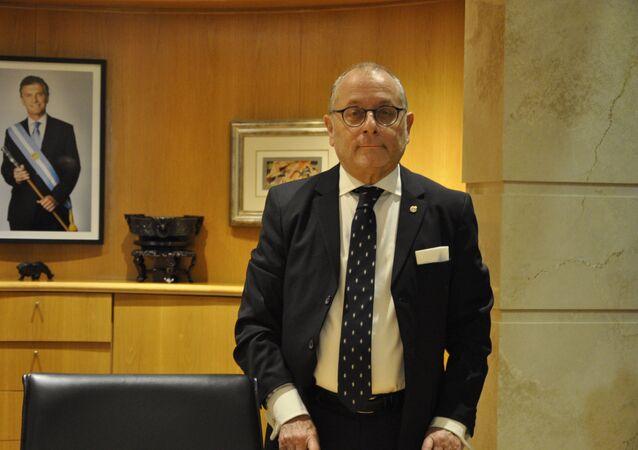 Jorge Faurie, canciller de Argentina