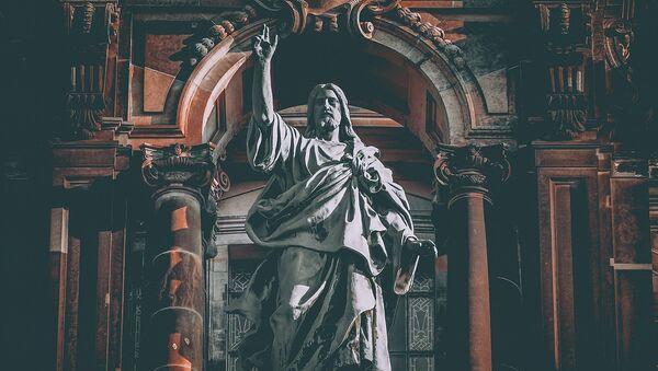 Escultura de Jesucristo - Sputnik Mundo