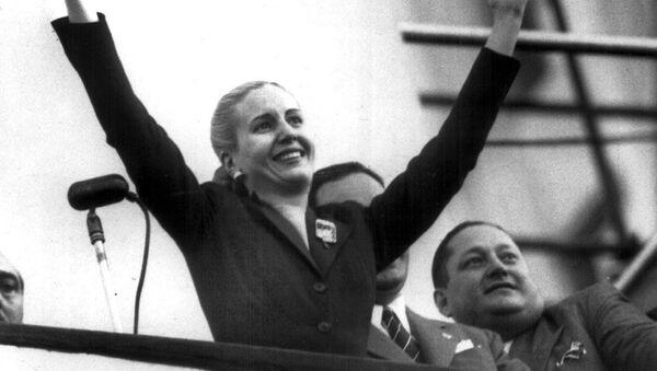 Maria Eva Duarte de Peron - Sputnik Mundo