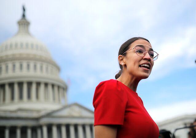 Representante demócrata electa Alexandria Ocasio-Cortez