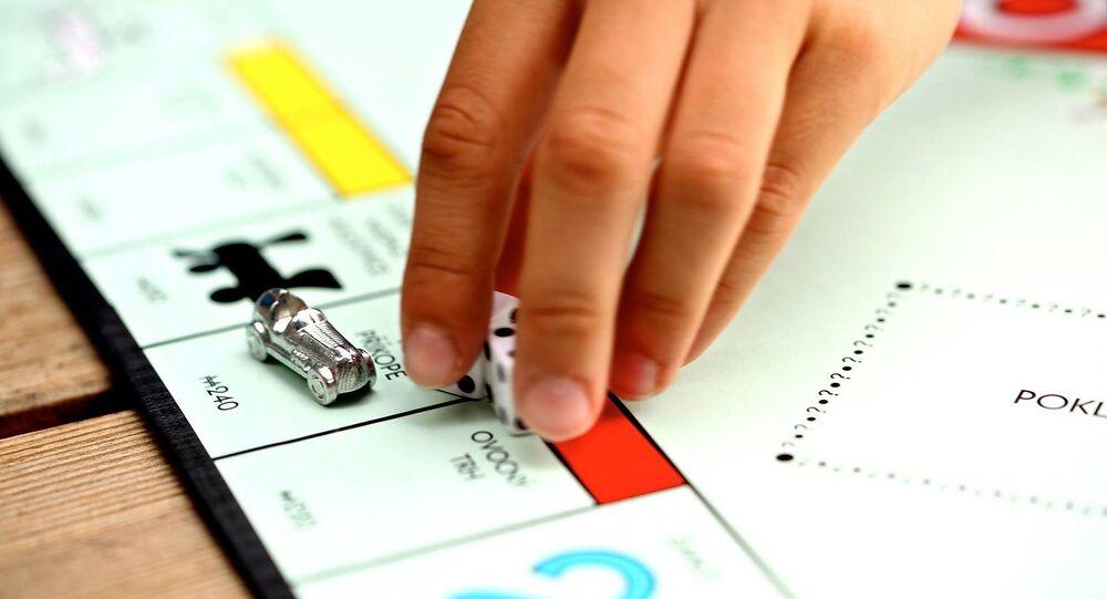 Un tablero de Monopoly