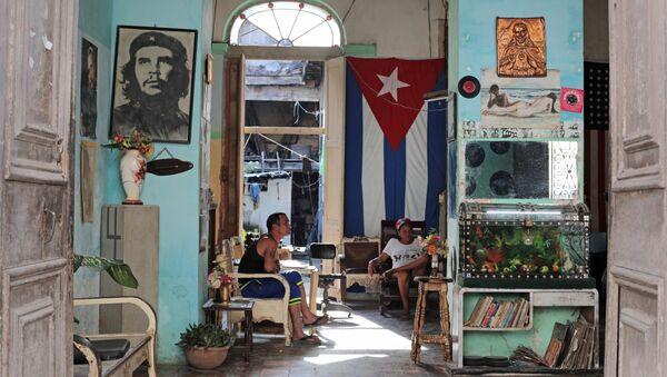 En un barrio residencial en la Habana, Cuba - Sputnik Mundo