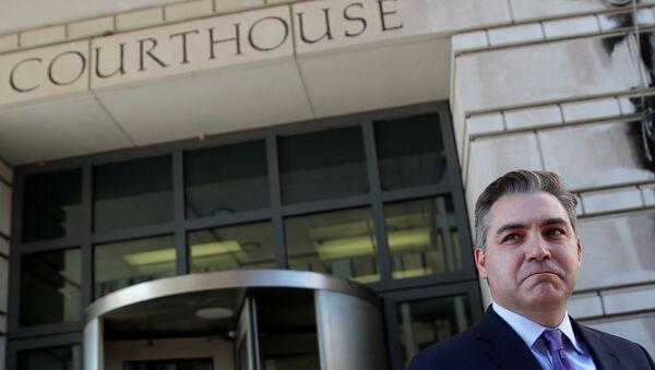 Jim Acosta, periodista de CNN - Sputnik Mundo