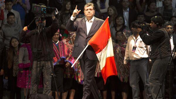 Alan García, antiguo presidente de Perú - Sputnik Mundo