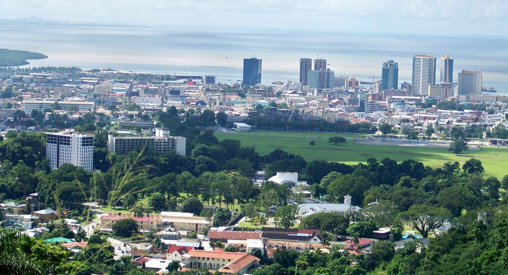 Puerto España, la capital de Trinidad y Tobago