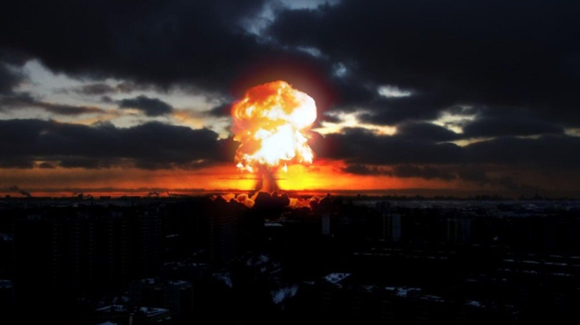 Una explosión en una ciudad, imagen referencial - Sputnik Mundo, 1920, 17.11.2018