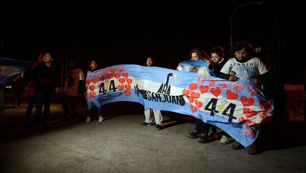 Los familiares de los tripulantes del ARA San Juan - Sputnik Mundo