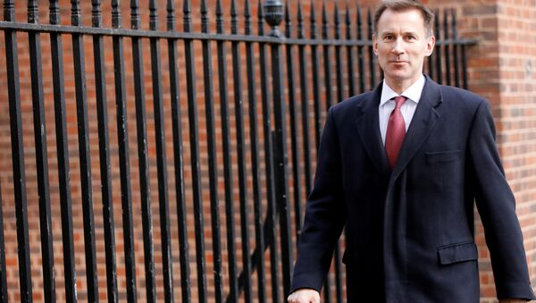 Jeremy Hunt, ministro de Exteriores del Reino Unido - Sputnik Mundo