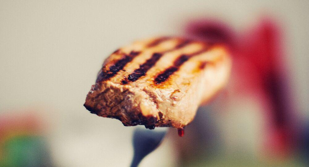 Un trozo de carne