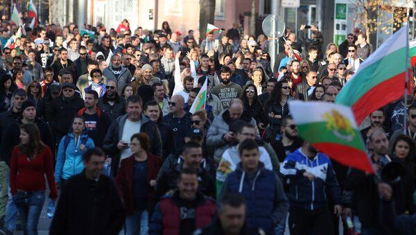 Protestas en Bulgaria - Sputnik Mundo