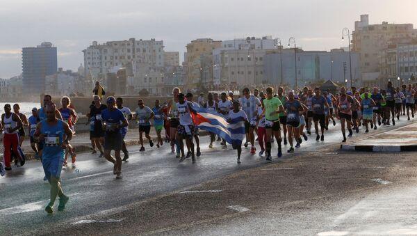 XXXII maratón del Marabana en La Habana - Sputnik Mundo