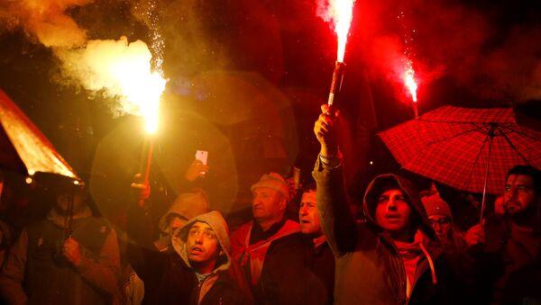 Protestas en Macedonia contra el cambio de nombre del país - Sputnik Mundo