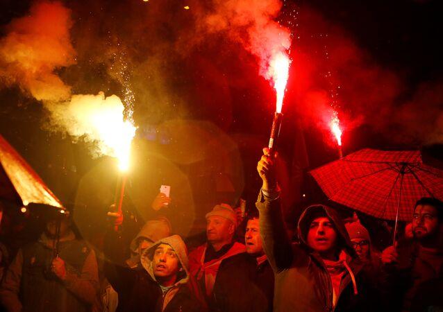 Protestas en Macedonia contra el cambio de nombre del país