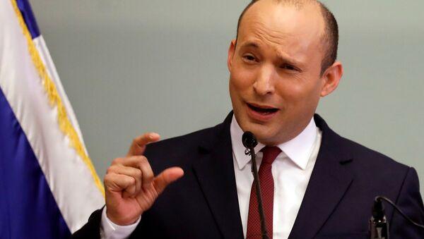 Naftali Bennett, el ministro de Educación de Israel - Sputnik Mundo