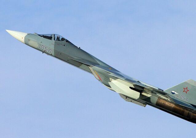 El caza de la quinta generación Su-57