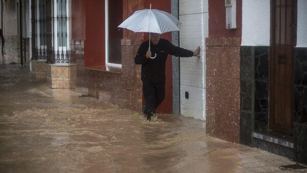 Inundaciones en España (archivo) - Sputnik Mundo