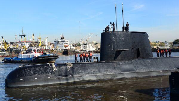 El submarino ARA San Juan (archivo) - Sputnik Mundo
