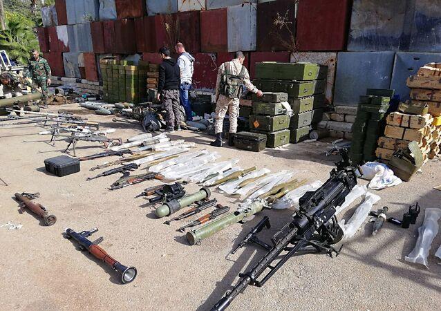 Un almacén de terroristas (archivo)