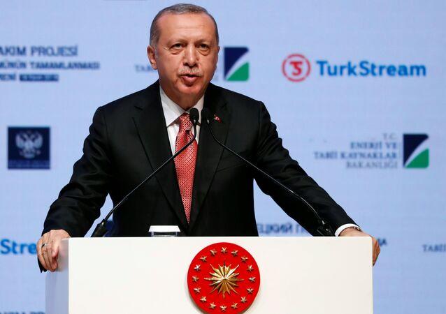 Recep Tayyip Erdogan, presidente de Turquía (archivo)