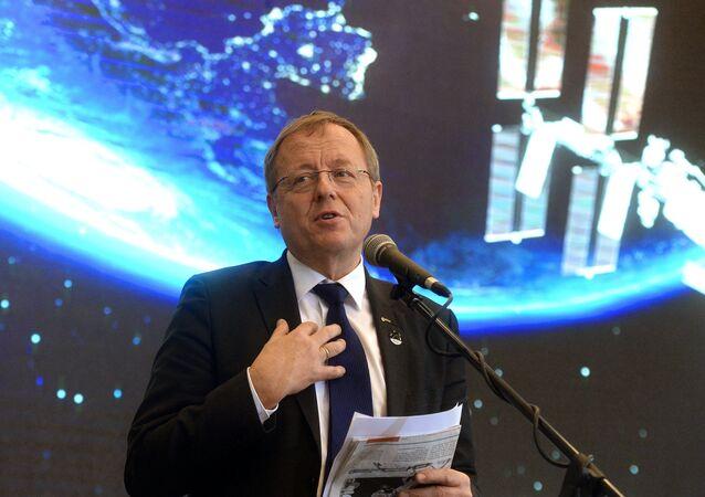 Johann-Dietrich Wörner, director de la Agencia Espacial Europea