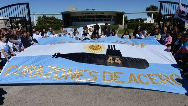 Parientes de los tripulantes del submarino ARA San Juan - Sputnik Mundo