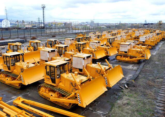 Maquinaria de la fábrica de tractores de Cheliábinsk, subsidiaria de Uralvagonzavod